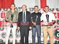 Antrenörler Derneği başarılıları ödüllendirdi