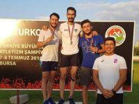 Atletlerimiz Bursa'da parladı