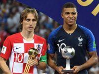 Altın Top Luka Modric'in...
