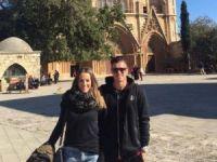 Anorthosis'li futbolcu Mağusa'yı gezdi
