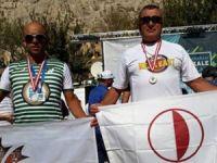 Gaziantep'ten madalya ile döndüler