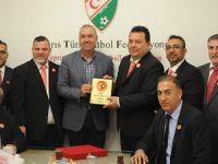 Türk Toplumu'ndan KTFF'ye ziyaret