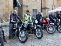 Klasik motosikletler sergilendi