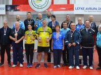 Veteranlar uluslararası turnuvada yarıştı