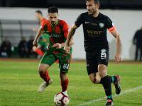 Yeşilova tek golle: 0-1