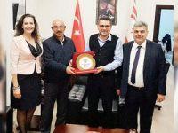 Erhürman, Girne Halk Evi'ni kabul etti
