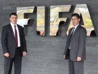 Kamalı ve Baturalp FIFA zirvesine katılıyor