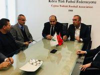 Büyükelçi'den KTFF'ye ziyaret