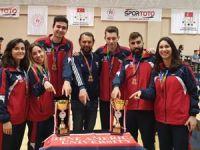 GAÜ Türkiye'de kupaları topladı
