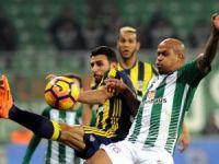 Bursa'da puanlar paylaşıldı: 1-1
