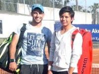 Teniste Büyükler Turnuvası başladı