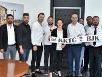 Beşiktaş Derneği'nden Harmancı'ya ziyaret