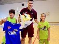 CBA'lı küçükler Gazi ile buluştu
