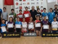 Badmintonda Öztürk ve Mertdin şampiyon