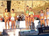 Merve şampiyon Buğra üçüncü