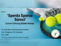 'Sporda Sporcu Süreci' semineri yapılacak