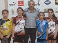 Badmintonda Meyra ve Eray şampiyon