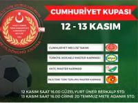 2. Cumhuriyet Kupası düzenleniyor