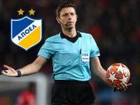 APOEL maçına yeni hakem