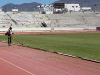 Atatürk Spor Kompleksi'nde temizlik yapıldı