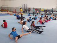 Lefkoşa cimnastikçilerinin özlemi bitti