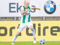Robben geri döndü