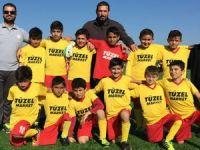 İlkokul futbolda 8'li final heyecanı
