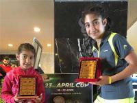 Küçük tenisçiler şampiyon oldu