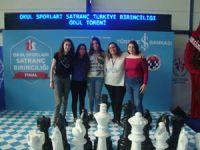 Okulların satrançta Türkiye başarısı