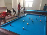 Lefke'de Bilardo heyecanı yaşanıyor
