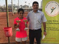 Tenisçiler Türkiye'de zirvede