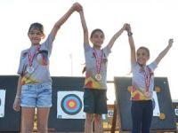 Minikler sıralama yarışmasında yarıştı