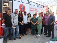 Kan Bağışı kampanyası büyük ilgi gördü