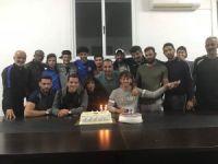 Lefke'de Semih'e kutlama