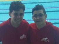 Başarılı yüzücüler basının karşısına çıkıyor