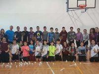 Badmintonda milli kamp tamamlandı