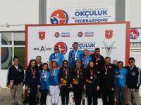 Okçulukta ikinci yarışmalar yapıldı