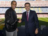 Rivaldo Barça'ya geri döndü