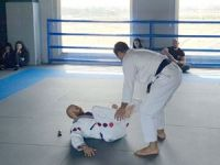 Öğrencilere Brazilian Jiu Jitsu anlatıldı