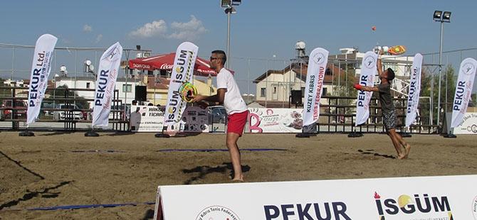 Pekur Beach Tennis Tour GTK tamamlandı 2