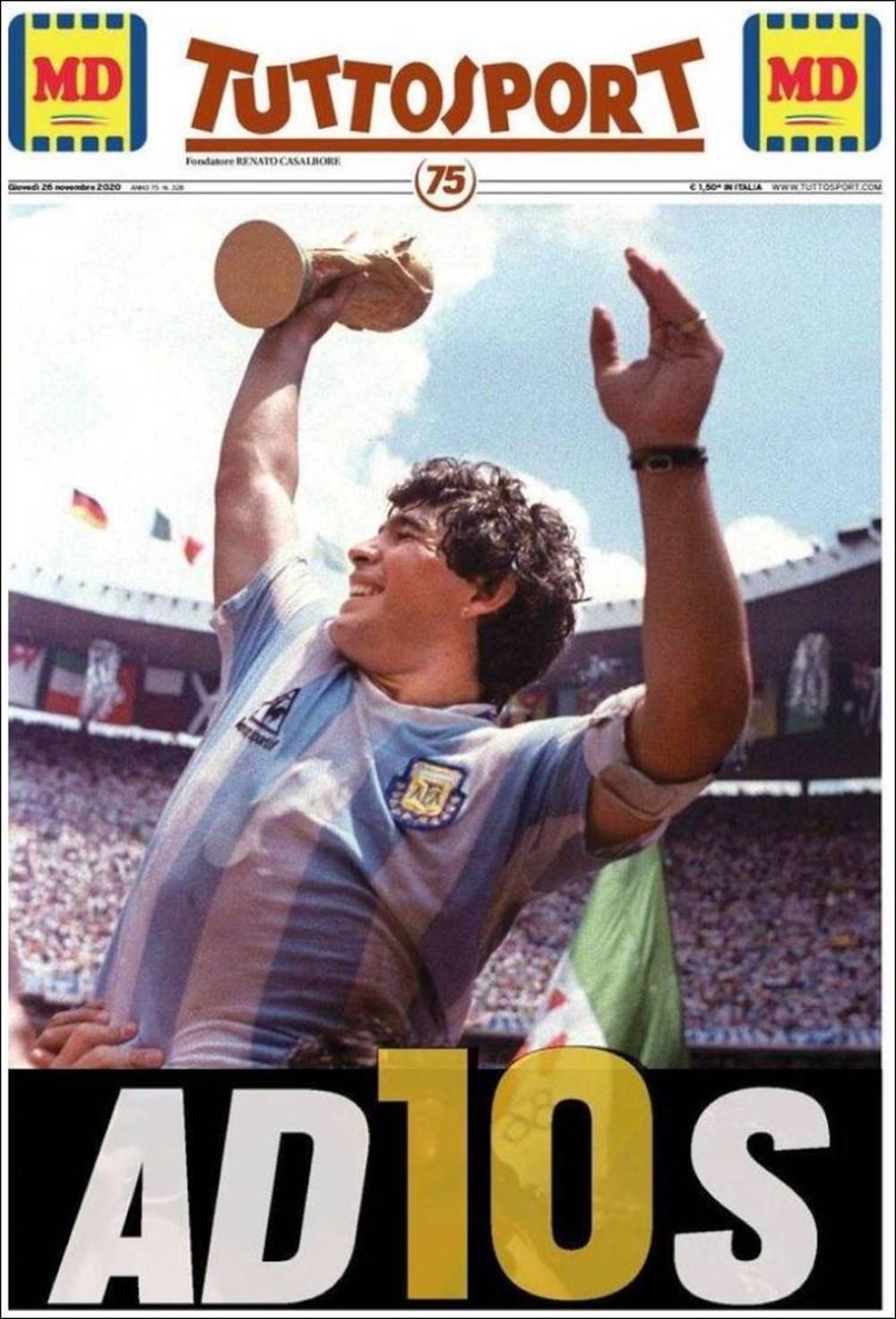 """Dünya Basını: """"Maradona Tanrı'nın Ellerinde"""" 12"""