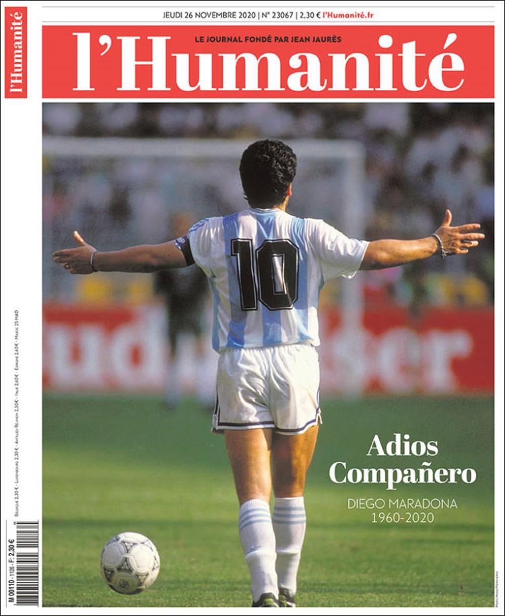 """Dünya Basını: """"Maradona Tanrı'nın Ellerinde"""" 14"""