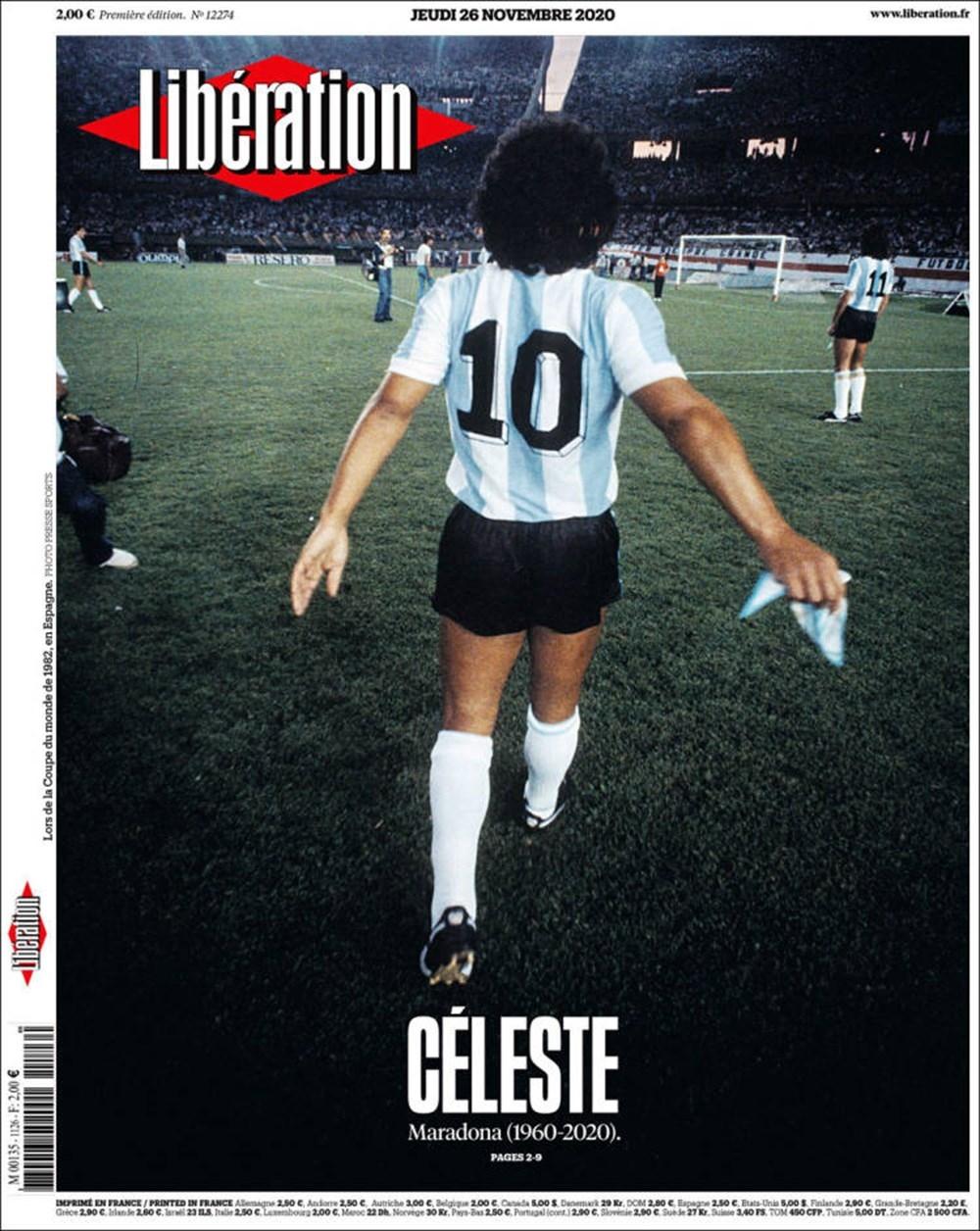 """Dünya Basını: """"Maradona Tanrı'nın Ellerinde"""" 15"""