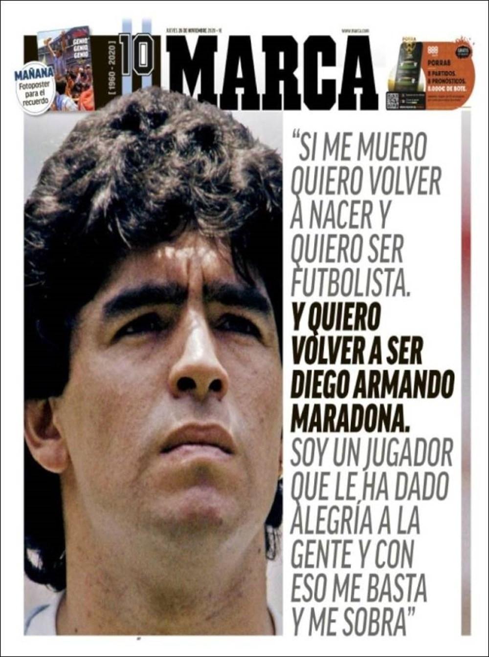 """Dünya Basını: """"Maradona Tanrı'nın Ellerinde"""" 3"""