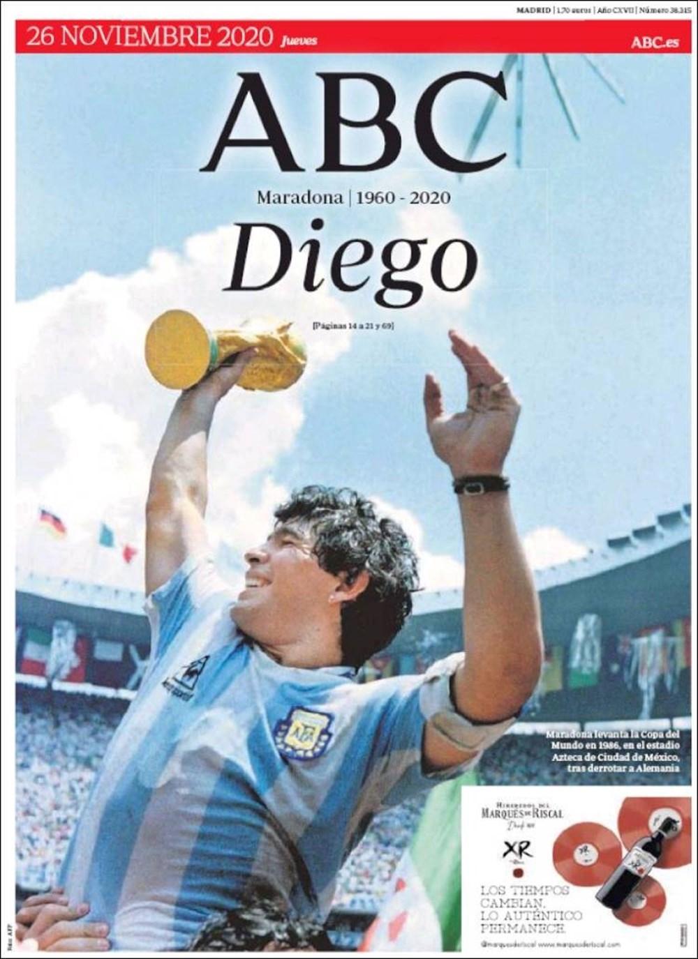 """Dünya Basını: """"Maradona Tanrı'nın Ellerinde"""" 5"""
