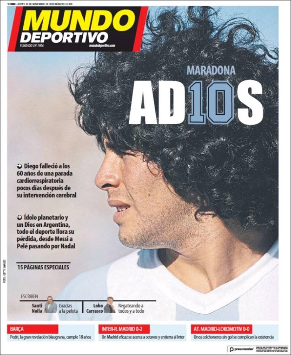 """Dünya Basını: """"Maradona Tanrı'nın Ellerinde"""" 6"""