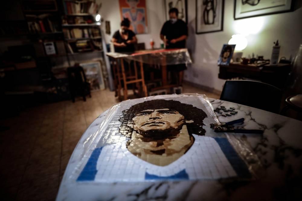 Maradona'nın anısı yaşatılıyor 1