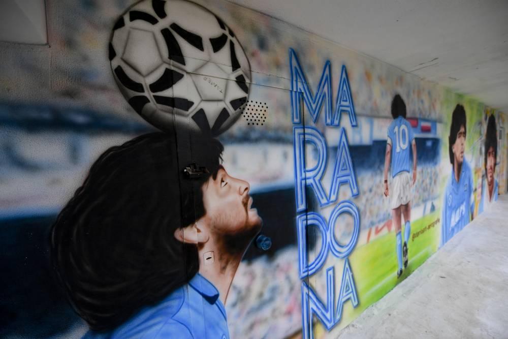Maradona'nın anısı yaşatılıyor 5