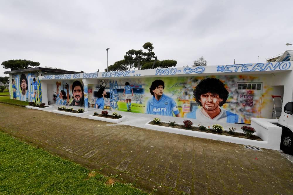 Maradona'nın anısı yaşatılıyor 6