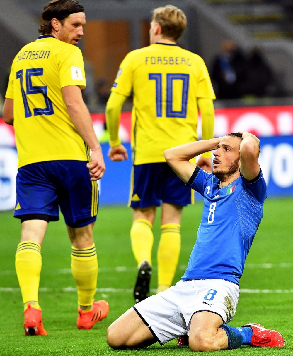 60 yıl sonra İtalya'sız Dünya Kupası... 4